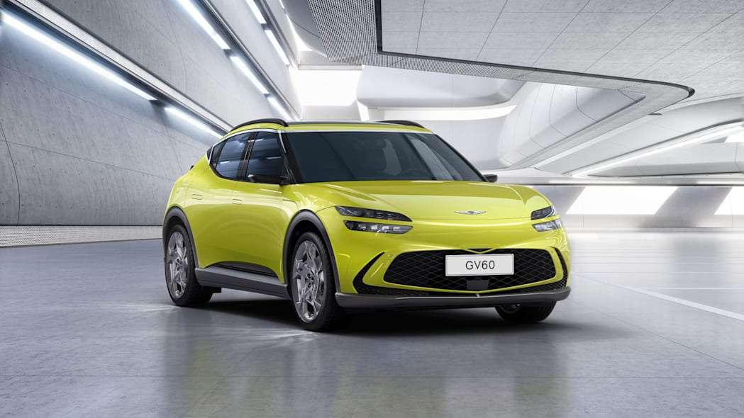 捷尼赛思 GV60 发布:  旗下纯电平台首款车型,续航约 483